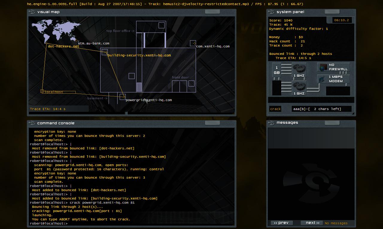 Hacker evolution - dilogy (2007-2009) pc repack от fenixx скачать торрент