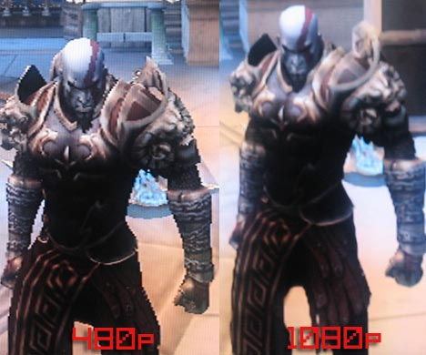 PS3 1 80 Firmware Update In Action, 480p vs 1080p | Game Front