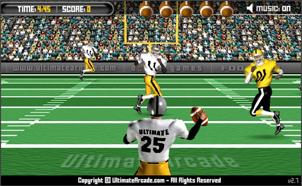 Flash Game Of The Day: American Football