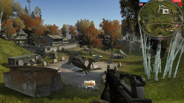 Here S A Large Infantry Focused Battlefield 2 Custom Map With Singleplayer Support That Pits The Us Marine Corps Against Chinese Rebels In And Around A