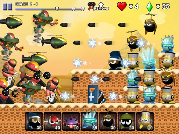 Check Out Mini Robot Wars – Kinda Like Plants vs. Zombies, But ...