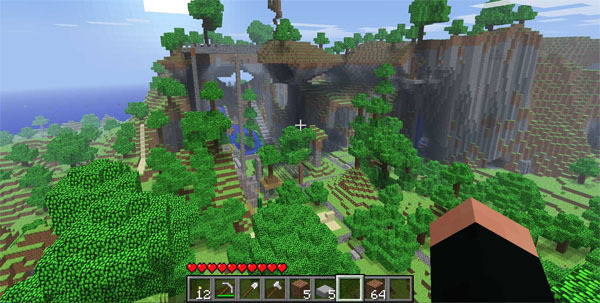 Minecraft Xbox 360 Controls Are Surprisingly Not Terrible