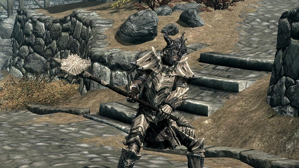 Mod Adds Craftable Dragonbone Weapons To Skyrim Game Front