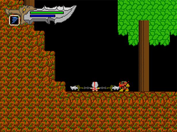 """8-bit """"Demake"""" of God of War (DOWNLOAD)   Game Front"""