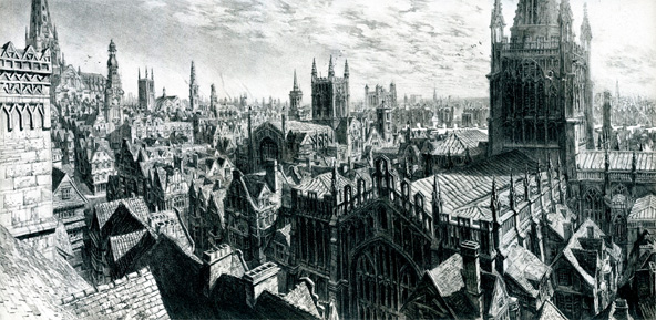Dishonored Art Director Sebastien Mitton Has Revealed Some Concept That Depicts The Games Preliminary Setting 1666 London Was Ultimately