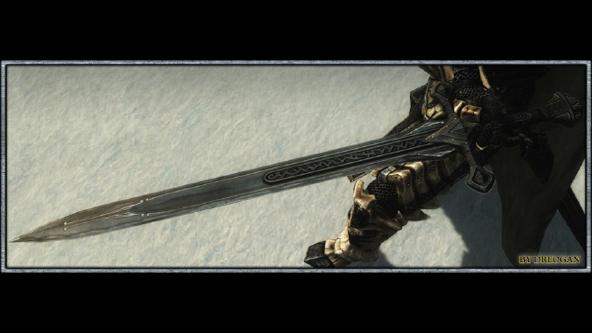 Skyrim skyforge steel sword