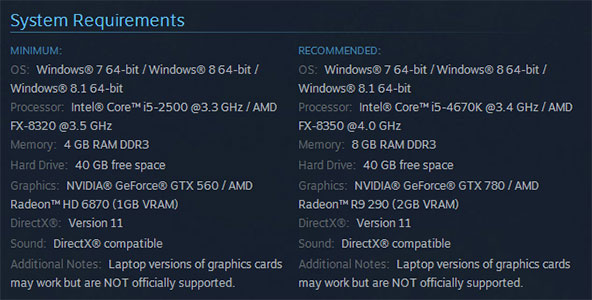 Dying Light System Requirements Hit Steam U2013 Theyu0027re A Bit High