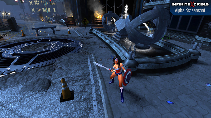 Justice League Of Legends Hands On With Infinite Crisis Game Front
