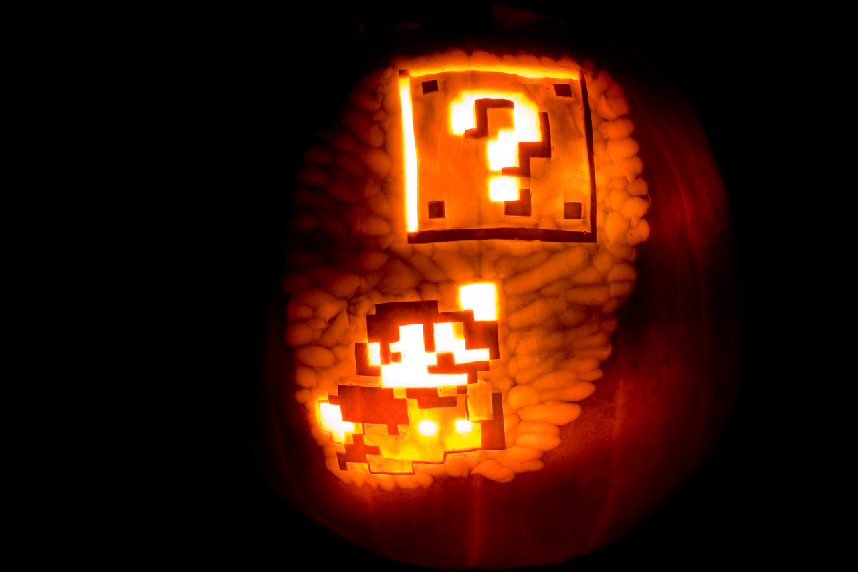 Carving A Kick-Ass Gaming Jack-O-Lantern | Game Front